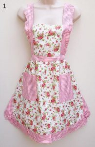 Apron Pink Rose - thefancyhen.ie