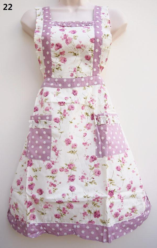 Apron Floral Polka Dot - thefancyhen.ie