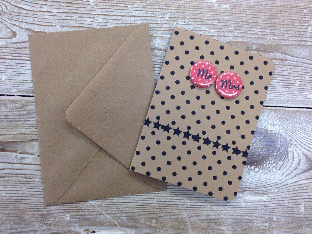 Card Mr. & Mrs. - thefancyhen.ie
