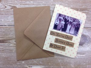 Card Oh You've Only Bloody Gone and Done It - thefancyhen.ie