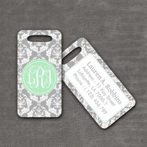Luggage Tag Antique - thefancyhen.ie