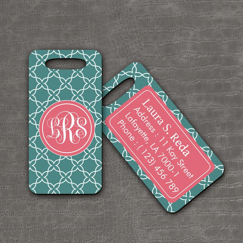 Luggage Tag Infinity - thefancyhen.ie