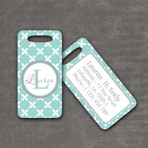 Luggage Tag Mint Checker - thefancyhen.ie