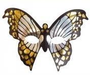 Mariposa Silver Mask - thefancyhen.ie