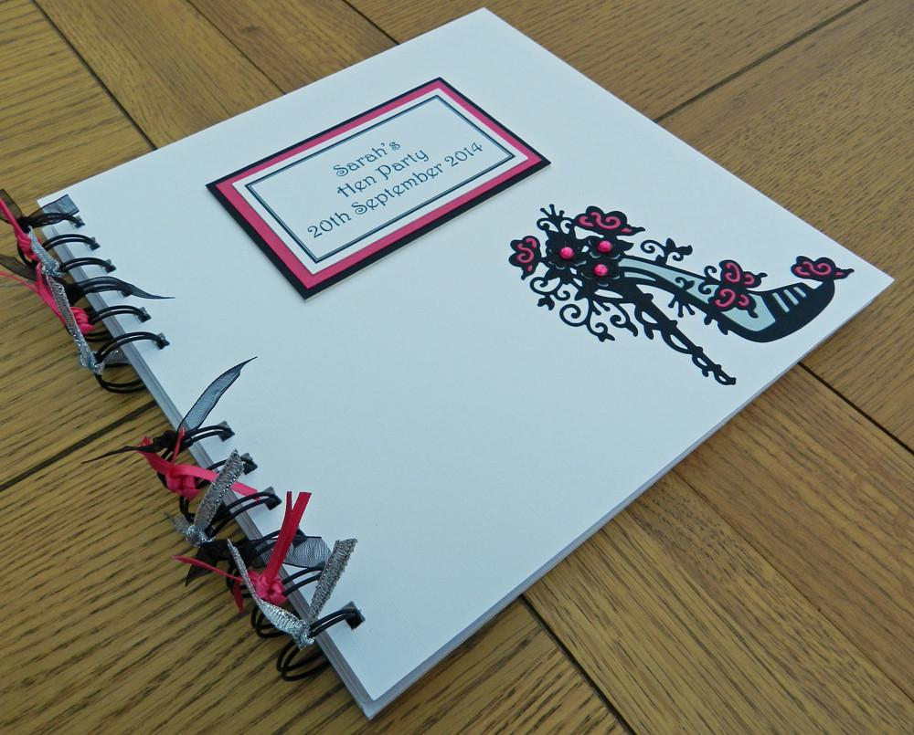 Memento Book Stiletto Style - thefancyhen.ie