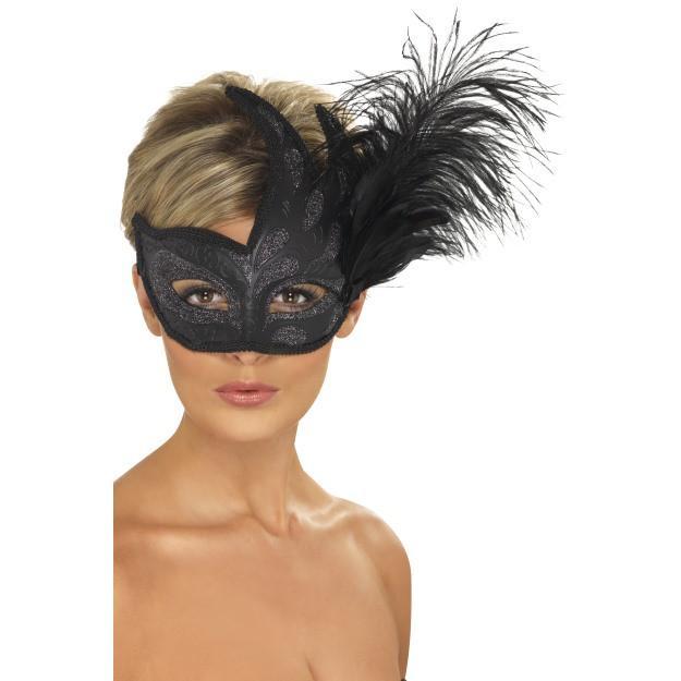 Ornate Colombina Mask - thefancyhen.ie