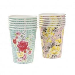 Paper Cups Vintage - thefancyhen.ie