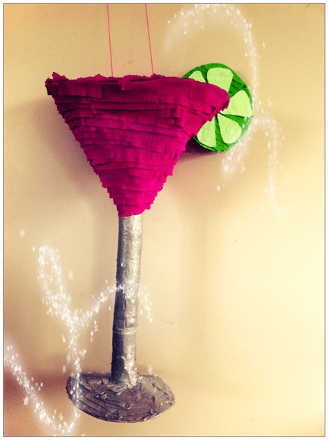Pinata Cocktail Glass - thefancyhen.ie