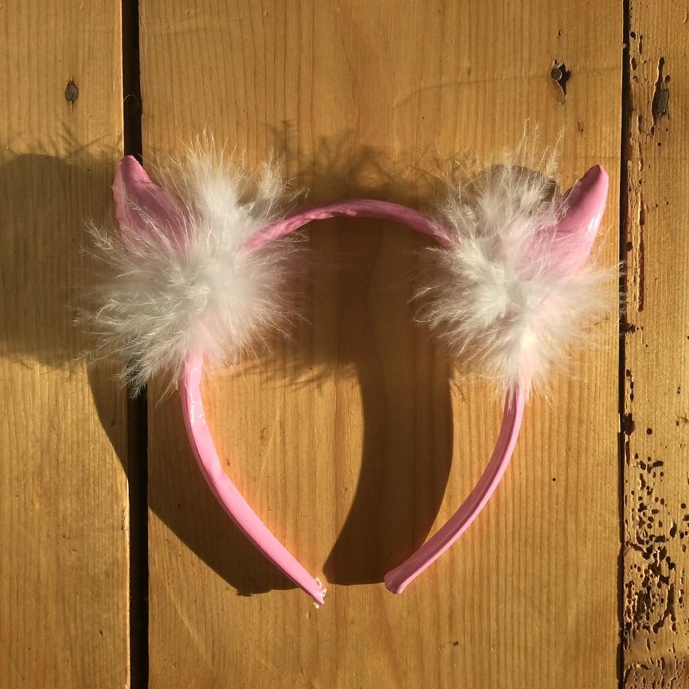 Pink Devil Horns - thefancyhen.ie