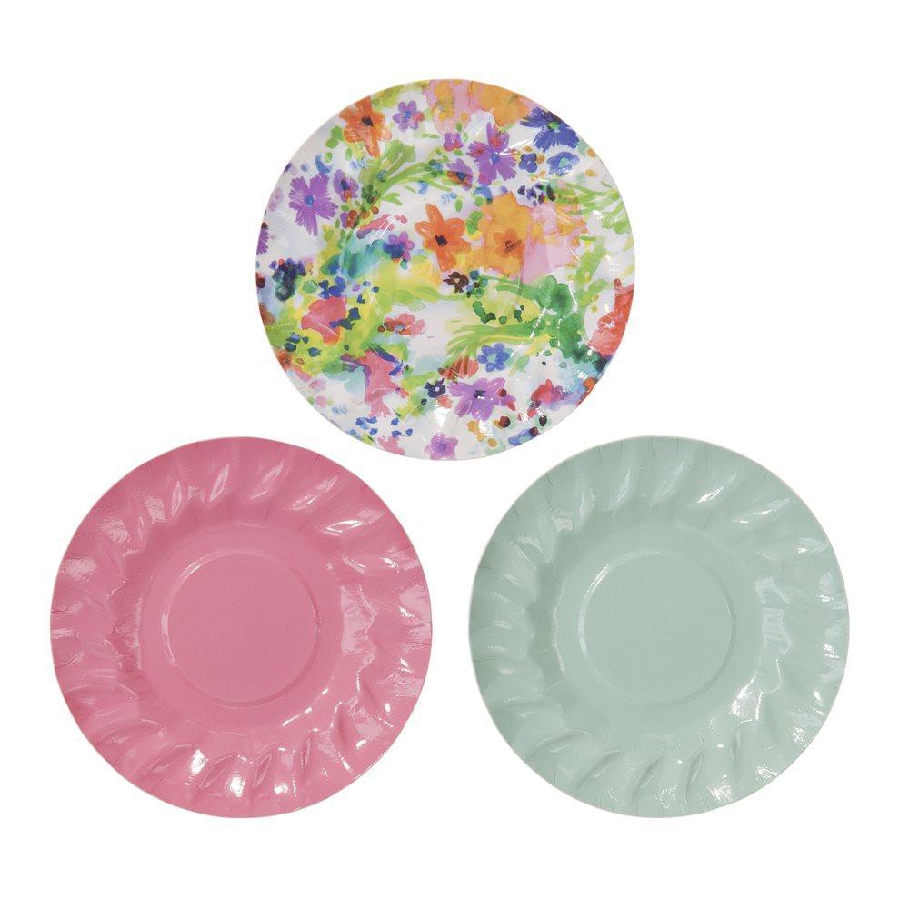 Plates Floral Mini - thefancyhen.ie