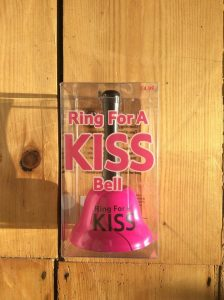 Ring for a Kiss Bell - thefancyhen.ie