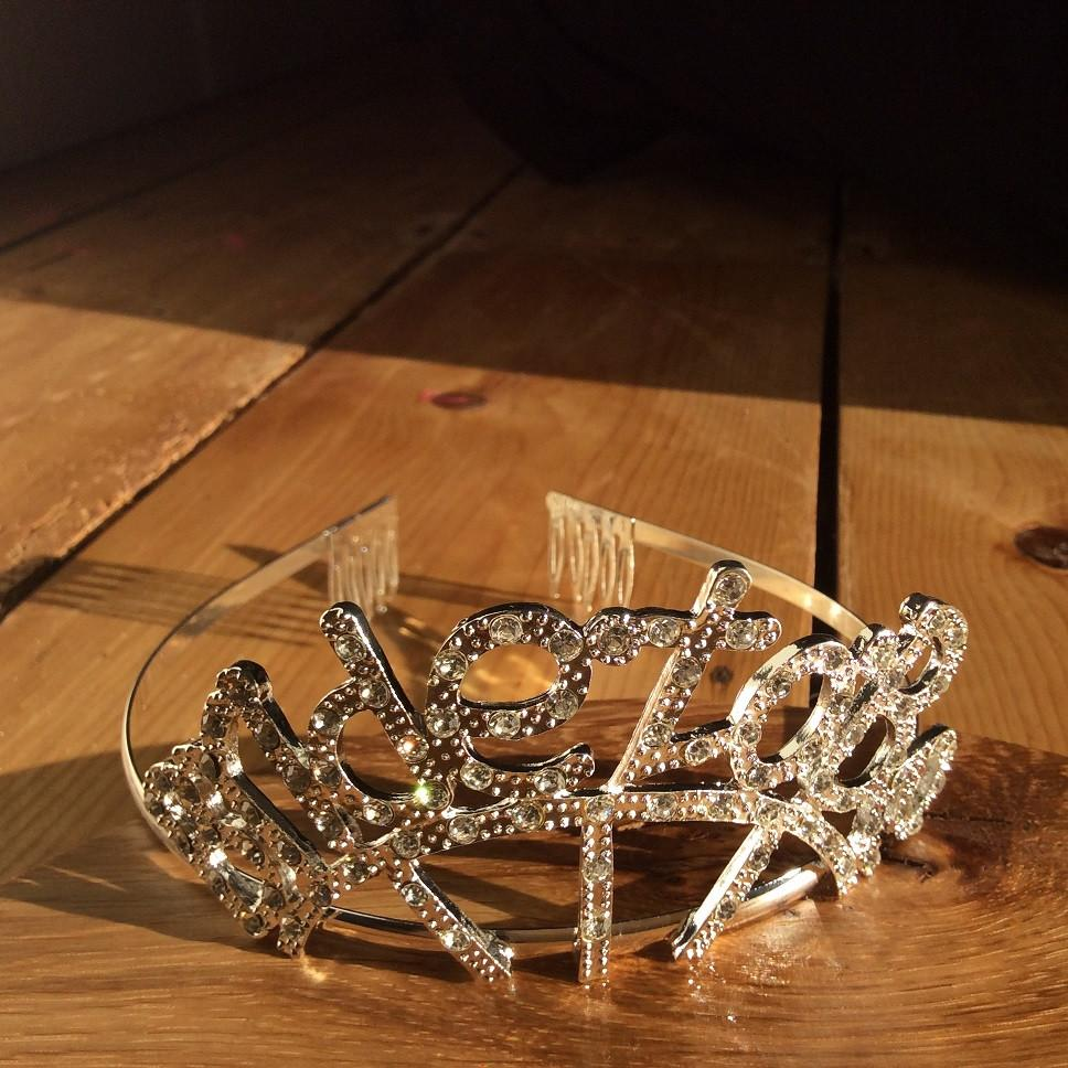Tiara Diamante Bride To Be - thefancyhen.ie