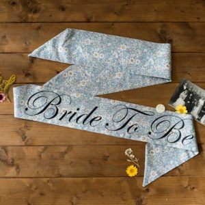 Bride to Be Sash Midnight Rose - thefancyhen.ie