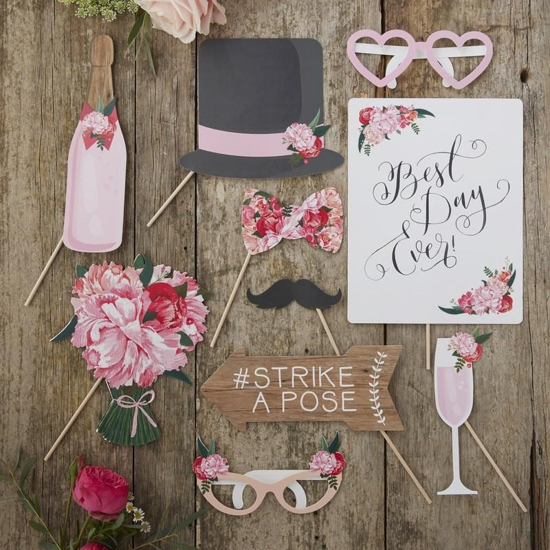 Boho Wedding Photo Props - Ginger Ray - thefancyhen.ie