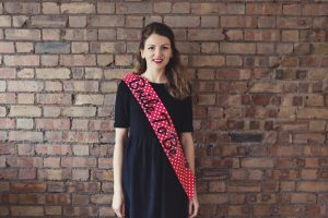 Bride to Be Sash Polka Dot - thefancyhen.ie