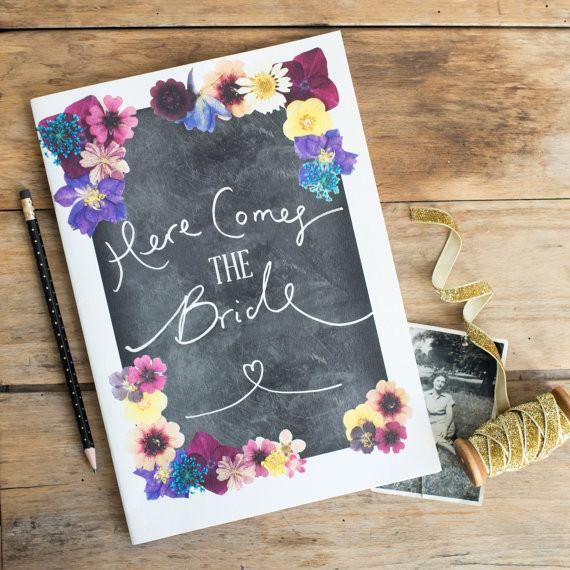 Here Comes the Bride - Vintage Scrapbook - thefancyhen.ie