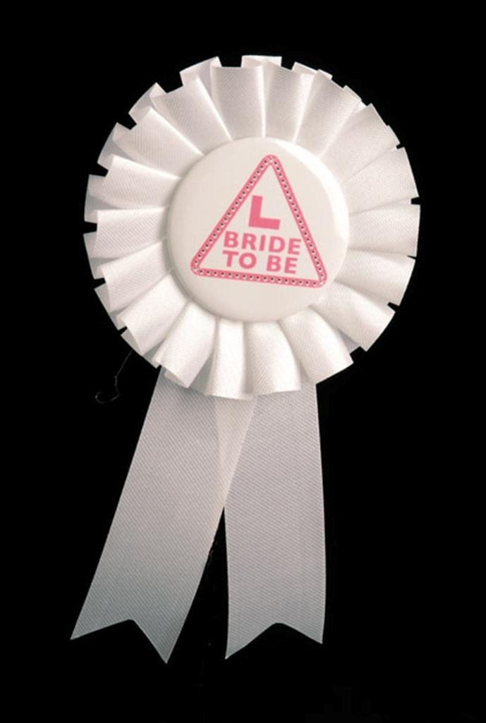 Miss Behave Bride to be Rosette - thefancyhen.ie