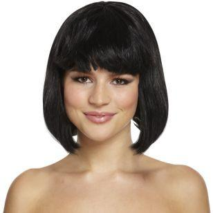 Wig - Black - thefancyhen.ie