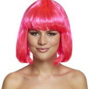 Wig - Pink - thefancyhen.ie