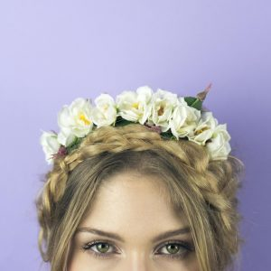 Wild Rose Headband - thefancyhen.ie