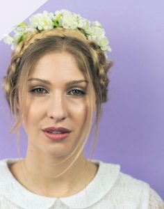 Cherry Blossom Headband - thefancyhen.ie