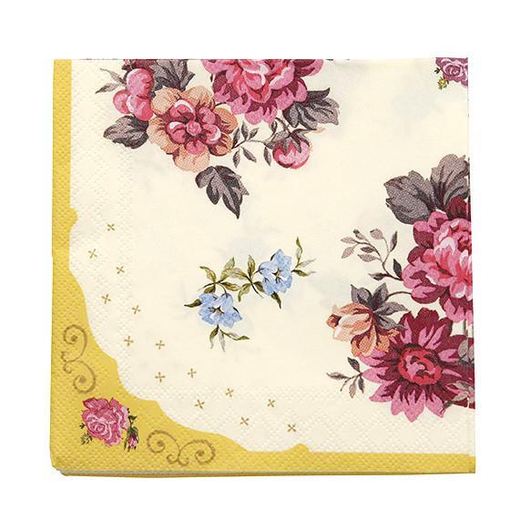 Napkins Floral - thefancyhen.ie