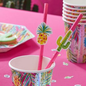 Cactus & Pineapple Straws - thefancyhen.ie