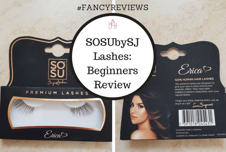 f9a40845707 #FANCYREVIEWS: SOSUbySJ Lashes Beginners Review